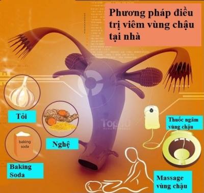 Cẩm nang điều trị viêm vùng chậu tại nhà